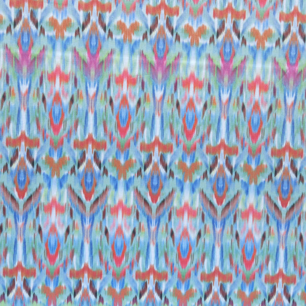 Cheerful Ikat Nylon Spandex Swimsuit Fabric