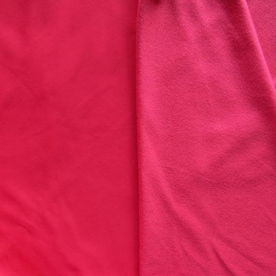 Cherry Nailhead Powerstretch Brushed Jersey Knit Fabric
