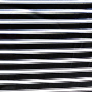 Classy Black and White Stripe Nylon Spandex Swimsuit Fabric