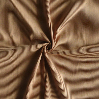 Coconut Ribbed Nylon Spandex Swimsuit Fabric