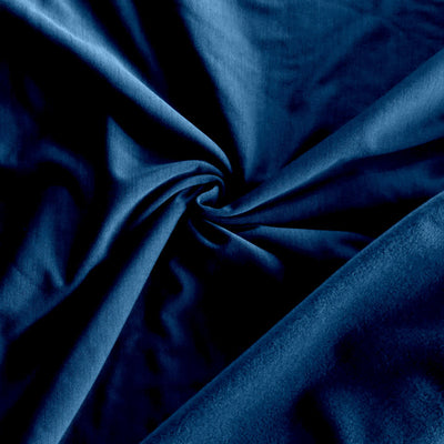 Dark Blue Striated Polartec Powerstretch Fleece Knit Fabric