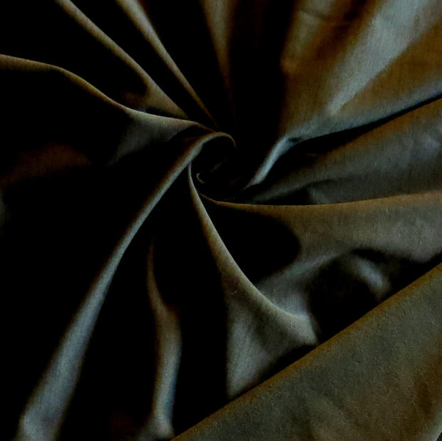 Dark Olive Striated Polartec Powerstretch Fleece Knit Fabric