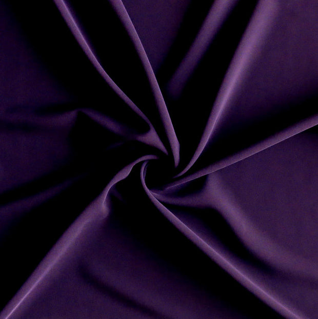 New Eggplant Stretch Woven Fabric