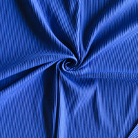 Electric Ribbed Nylon Spandex Swimsuit Fabric