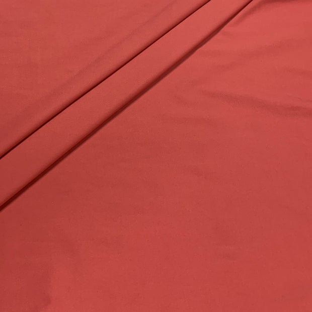 Endurance Mineral Red Repreve Recycled Polyester Spandex Knit Fabric