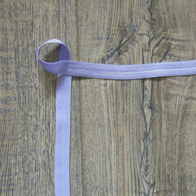 Enchanted Purple Fold Over Elastic Trim