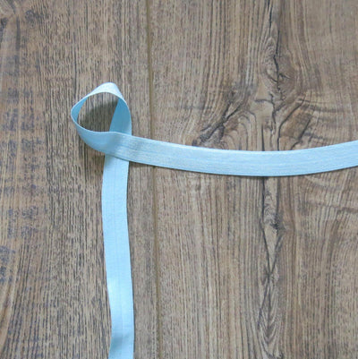 Tear Drop Blue Fold Over Elastic Trim