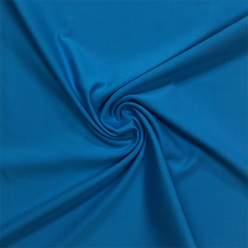 Turquoise Flex Nylon Spandex Athletic Knit Fabric