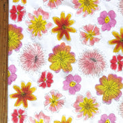Floral Bliss Cotton Knit Fabric