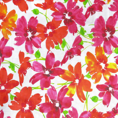 Floral Mesh Fabric