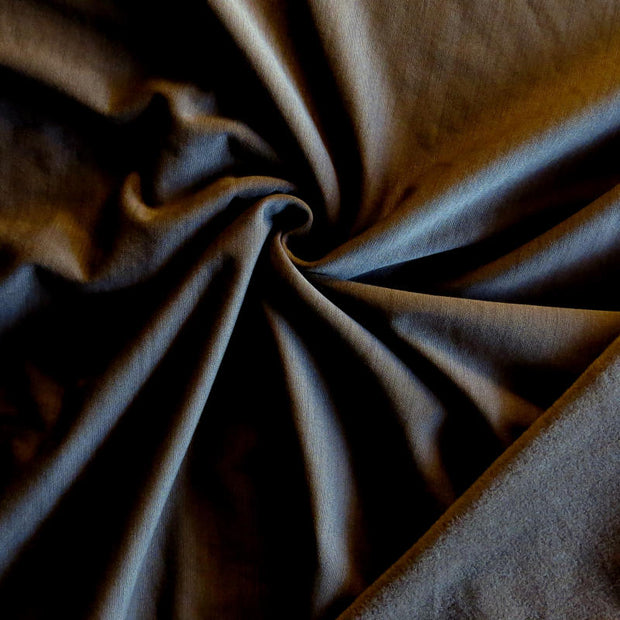 Fudge Brown Striated Polartec Powerstretch Fleece Knit Fabric