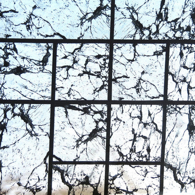Geo Marble Nylon Spandex Swimsuit Fabric