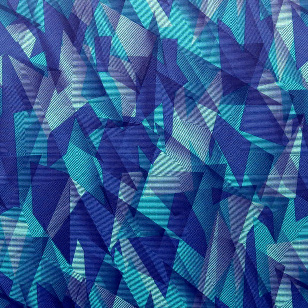 Geometrics Poly Spandex Knit Fabric