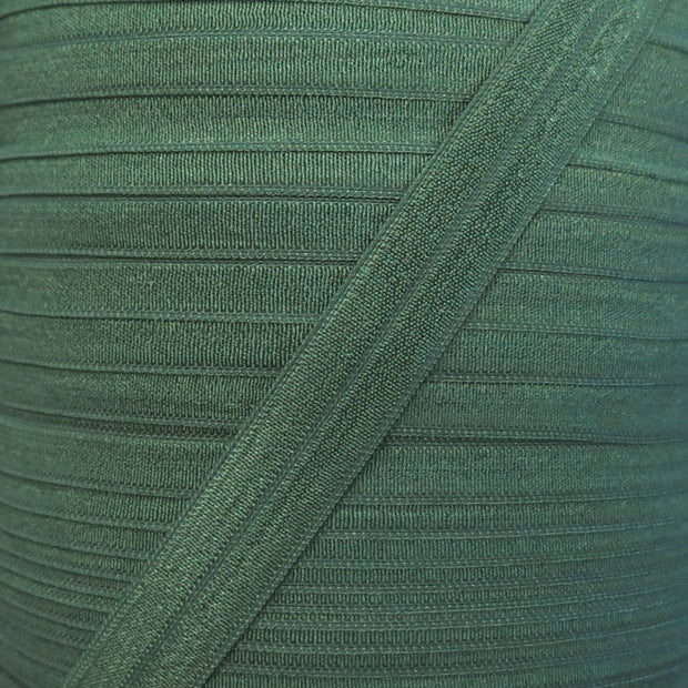 Greenery Fold Over Elastic Trim