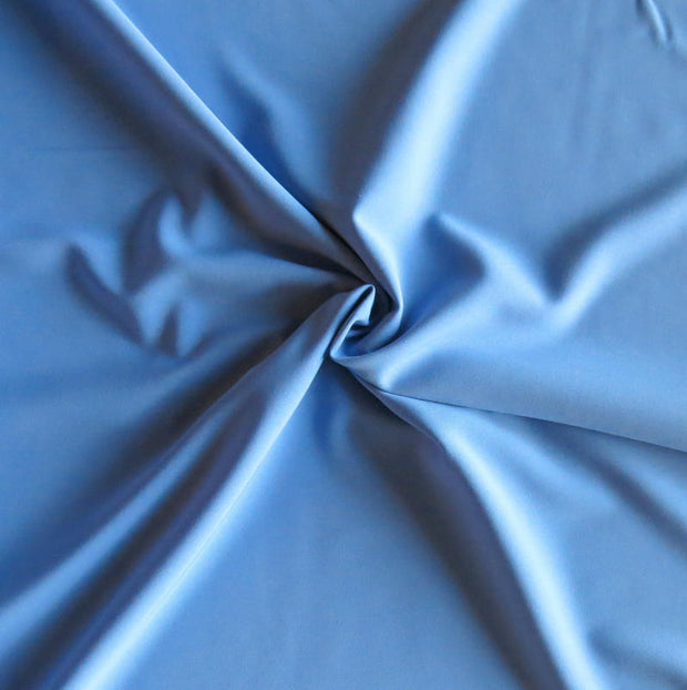Kinetic Blue Stretch Woven Fabric