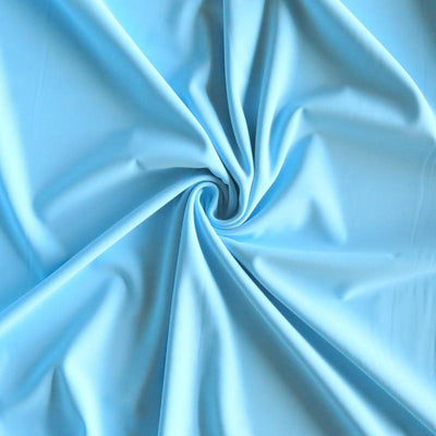 Light Blue Nylon Spandex Swimsuit Fabric