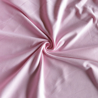 Light Pink Cotton Lycra Jersey Knit Fabric