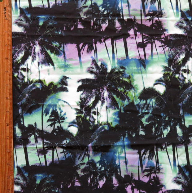 Miami Nights Flow Stretch Boardshort Fabric
