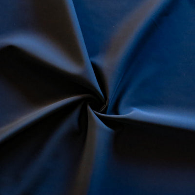 Carbon Midnight Navy Scuba Poly Lycra Tricot Fabric