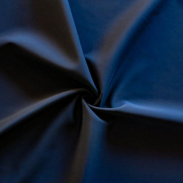 Carbon Midnight Navy Primo Poly Lycra Tricot Fabric