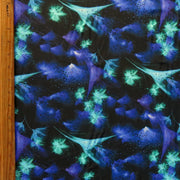 Nocturnal Nylon Spandex Swimsuit Fabric