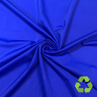 Cobalt Palm Rec 18 Recycled Nylon Spandex Swimsuit Fabric