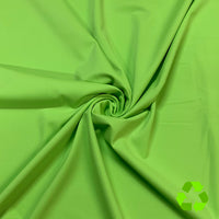 Green Lizard Palm Rec 18 Recycled Nylon Spandex Swimsuit Fabric