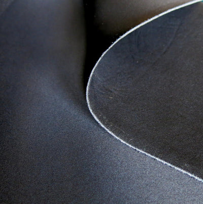 Black Poly Laminate Foam Fabric - By the Yard