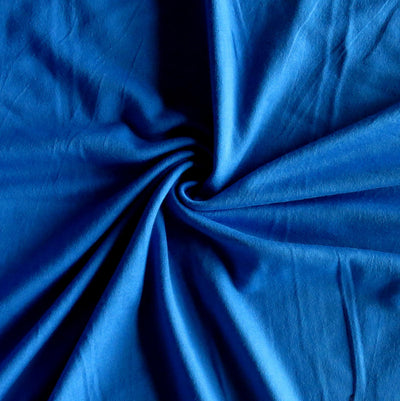 Pompeii Blue Bamboo Lycra Jersey Knit Fabric