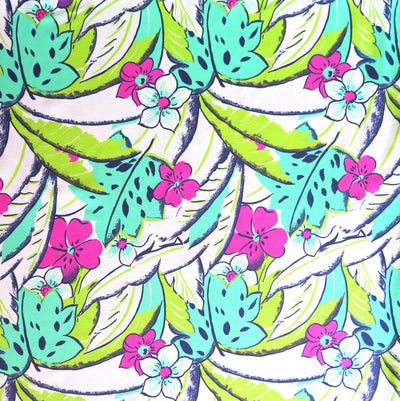 Pop of the Tropics Nylon Spandex Swimsuit Fabric