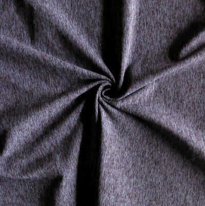 Purple Haze Eclat Marl Poly Spandex Jersey Knit Fabric