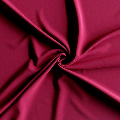 Rapture Red Stretch Woven Fabric