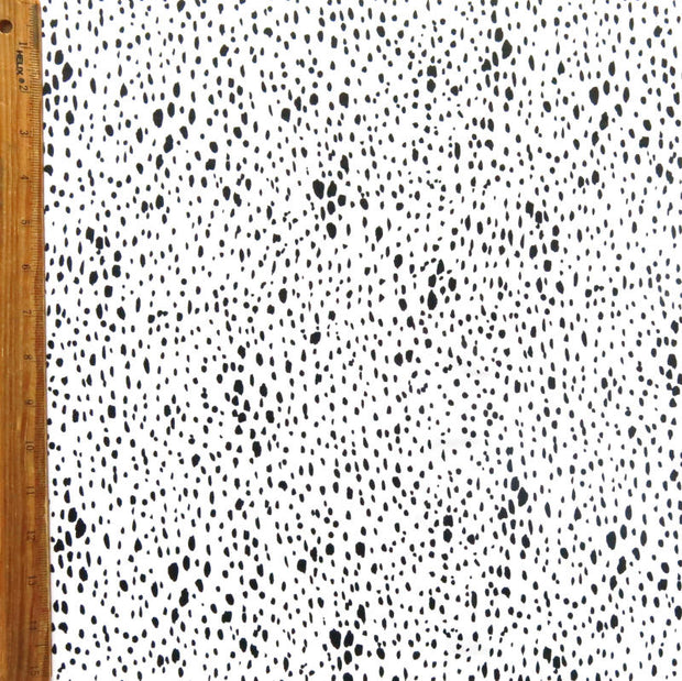 Reaction Drip Drop Poly Lycra Knit Fabric