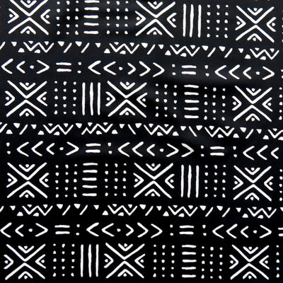 Reaction Indigenous Poly Lycra Knit Fabric