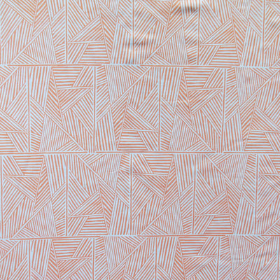 Reaction Peach Pie Poly Lycra Knit Fabric