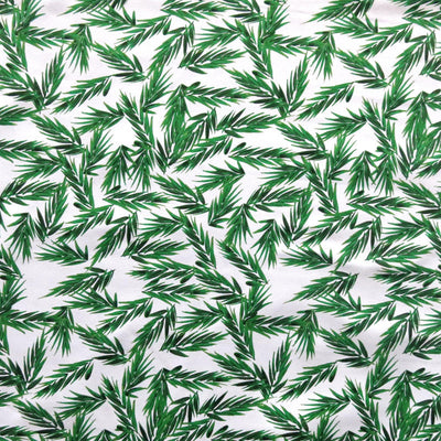 Reaction Sprigs Poly Lycra Knit Fabric