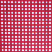 Large Red and White Gingham Nylon Spandex Swimsuit Fabric