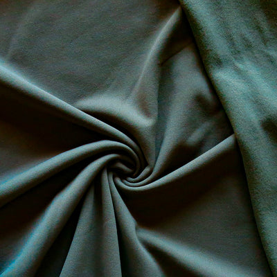 Olive Repreve Powerstretch Fleece Knit Fabric