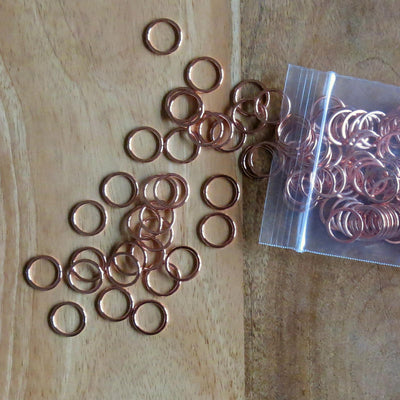 1/2 inch Rose Gold Bra Rings