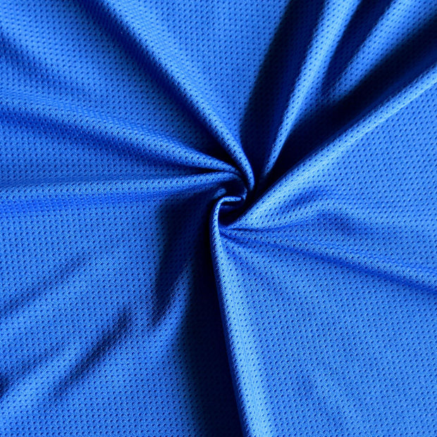 Royal Dri-Fit Stretch Mini Mesh Fabric