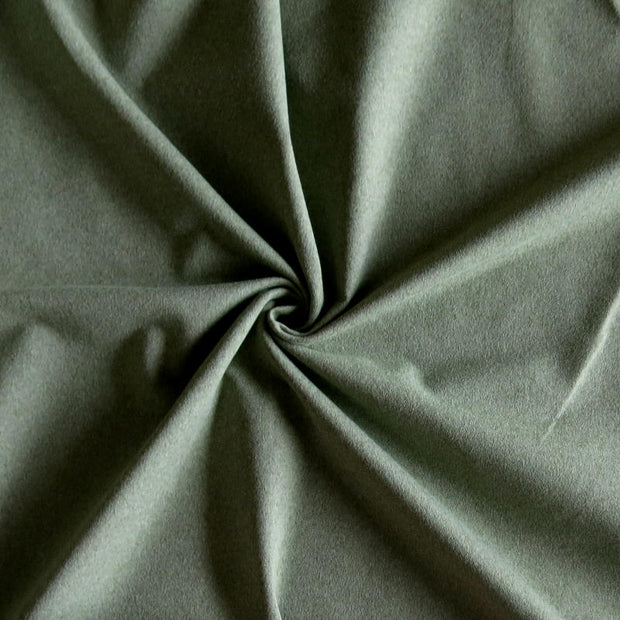 Splendid Sage Sueded Poly Lycra Jersey Knit Fabric
