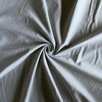 Splendid Silver Sueded Poly Lycra Jersey Knit Fabric