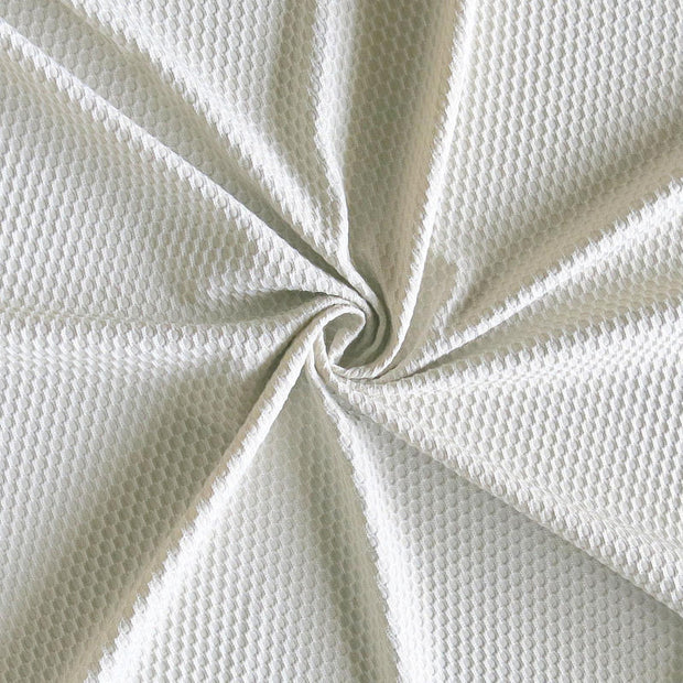 Stone Dri-Fit Bubble Jacquard Poly Spandex Mesh Fabric