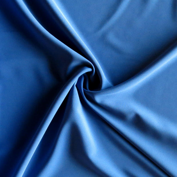 Stoneybrook Blue Stretch Woven Fabric