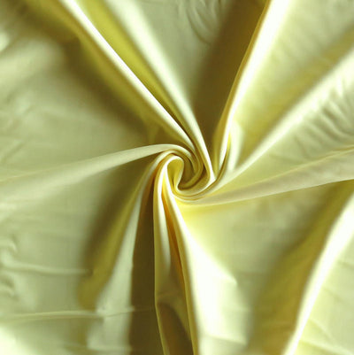 Straw Yellow Nylon Spandex Swimsuit Fabric