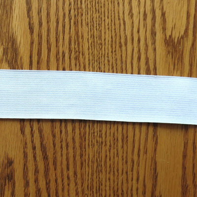 "White 1.5"" Swimsuit Elastic"