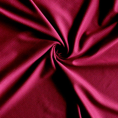 Team Maroon Dri-Fit Stretch Mini Mesh Fabric