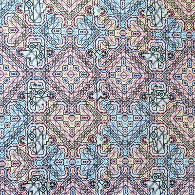 Triangle Tribal Poly Spandex Swimsuit Fabric