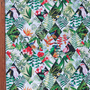 Tropical Diamonds Nylon Spandex Swimsuit Fabric