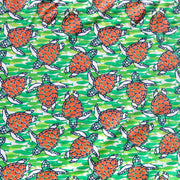 Turtles and Fish Nylon Spandex Swimsuit Fabric